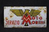 ORIGINALE TARGA MOTO MORINI ANNI 50 ITALIA.
