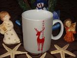 Reindeer Winter Seasons 480ml Becher