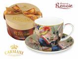 Pierre Auguste Renoir Kaffee Set  + Karton 280ml Tasse + 15cm UT Luncheon Party