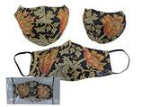 William Morris Gesichts Nasen Mund Maske Stoffmaske Polyester Bedeckung Tapesty 021-9890