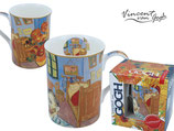 Vincent van Gogh room collage Tasse + Geschenkkarton 0,32L Raumcollage