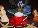 Floral Flakes Winter Seasons Espresso Set