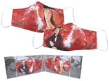 2x Amedeo Modigliani Gesichts Nasen Mund Maske Stoffmaske Polyester Bedeckung 021-9780