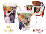 2 Tassen Auguste Renoir 300ml Becher 1.Wahl + Geschenkkarton Luncheon + Dance