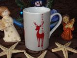 Reindeer Winter Seasons 300ml Becher