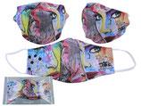 Loui Jover Gesichts Nasen Mund Maske Stoffmaske Polyester Mundbedeckung 021-9841