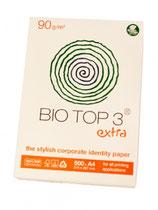 Briefpapier Bio Top.  Eenzijdig 1 PMS kleur.