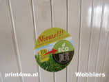 Wobbler - Rond - Gloss - 100 mm.