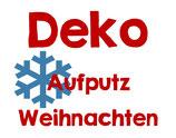 Deko - Aufputz Weihnachten
