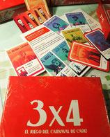 """3 x 4"" El juego de mesa del carnaval de Cádiz"