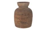 Vintage houten vaas