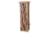 Teak houten zuil