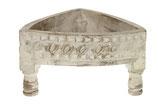 Vintage houten mini chakki tafel