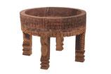 Vintage houten chakki tafel