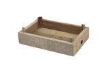 Historische houten krat