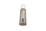 Bamboo lantaarn met glas