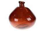 Vaas van gerecycled glas Terra Cotta
