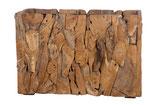 Teak erosie houten plantenbak
