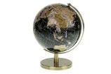 Wereldbol op een goudkleurige standaard