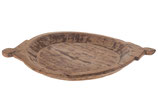 Vintage houten capati plate