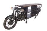 Vintage iron motor bartafel
