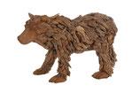 Teak Erosion wood big bear