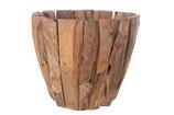 Teak houten pot