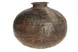 Vintage ijzeren pot