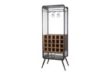 Wine cabinet wood / metal