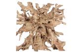 Devider teak root 120x120x40cm - Natural
