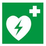 "Symbol ""Defibrillator"", Kunststoff, 200 x 200 mm"