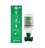 Wandstation PLUM mit 1 Augenspülflasche