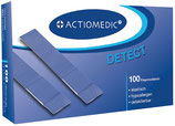 Actiomedic® DETECT + ELASTIC Fingerverband, 12 x 2 cm, Pack à 100 Stück
