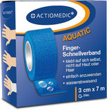 10 Stück Actiomedic® AQUATIC Schnellverband , 3 cm x 7 m per Stück nur 3,50 inkl. MwSt.