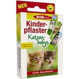 WUNDMED - KINDERPFLASTER - KATZENBABYS 50ER - SET