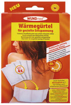 WUNDMED - WÄRMEGÜRTEL/RÜCKENGÜRTEL + NACHFÜLL WÄRMEKISSEN