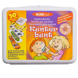 WUNDMED - KINDERPFLASTER - KUNTERBUNT MIX IN EINER BOX 50ER - SET