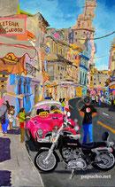 Harley en la Habana