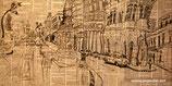 Habana se viste de Prado (Skizze auf Zeitung)