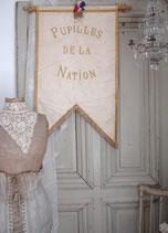Antike Prozessionsflagge ca. 1920 Frankreich