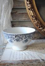 Dekorative alte Keramik Bol aus Frankeich