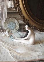 Süße alte Porzellan Ballett Puppe Frankreich