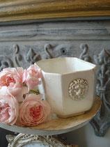 RAR: Antiker Sucrier Keramik um 1890 Frankreich