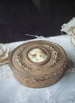 Antike französische Schmuckdose Medaillon 1900