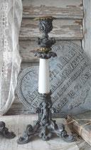 Dekorativer antiker Kerzenleuchter, Frankreich 1900