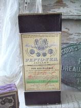 Dekorative alte Apotheken Pappschachtel Frankreich