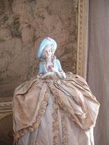 Sooo shabby: Antike Teepuppe Porzellan aus Frnakreich