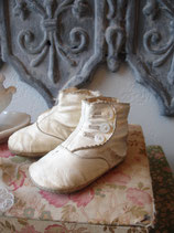 Antike viktorianische Baby Knopfschuhe - Traumpatina