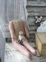 Antike Puppenkörper Frankreich