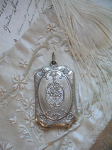 Wunderschönes antikes Spiegel Medaillon Louis XV